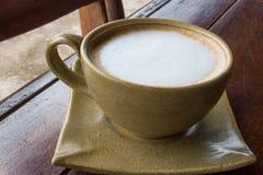 Caffè del cappuccino di mattina Immagini Stock Libere da Diritti