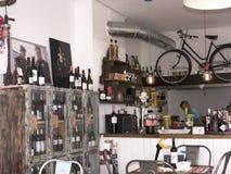 Caffè del ciclista di Mijas in piazza Spagna Immagine Stock Libera da Diritti