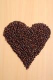 Caffè del cuore Fotografie Stock Libere da Diritti