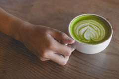 Caffè del dolce Fotografia Stock