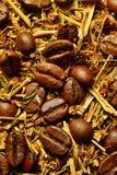 Caffè del fondo Fotografia Stock