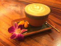 Caffè del Latte Immagine Stock Libera da Diritti