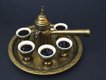 Caffè del Medio-Oriente Immagini Stock