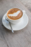 Caffè del pipistrello di Halloween Immagine Stock Libera da Diritti