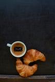 Caffè del segno della posta Immagine Stock