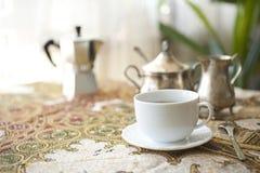 Caffè del servizio Fotografia Stock Libera da Diritti