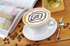 Caffè del tè di pomeriggio Fotografia Stock Libera da Diritti