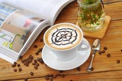 Caffè del tè di pomeriggio Immagine Stock Libera da Diritti
