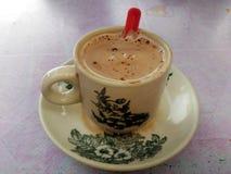 Caffè del tè di pomeriggio Fotografie Stock