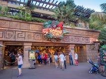 Caffè della foresta pluviale di Disney Fotografia Stock