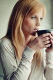 Caffè della prima colazione Fotografie Stock Libere da Diritti