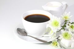 Caffè della prima colazione Immagini Stock