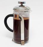 Caffè della stampa del francese Fotografia Stock
