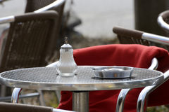 Caffè della via Fotografia Stock Libera da Diritti