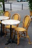 Caffè della via a Parigi Fotografie Stock Libere da Diritti