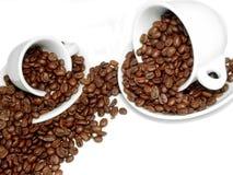 Caffè dello spargimento Immagine Stock