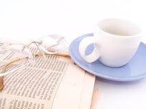 Caffè di affari Fotografie Stock