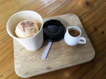Caffè di Affogato Fotografia Stock Libera da Diritti