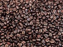 Caffè di amore fatto dai chicchi di caffè Immagini Stock Libere da Diritti
