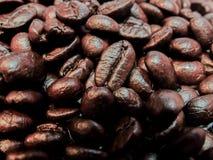 Caffè di amore fatto dai chicchi di caffè Fotografia Stock Libera da Diritti