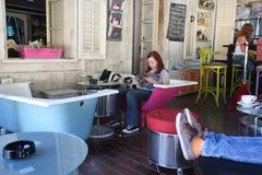 Caffè di arte Fotografie Stock