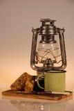 Caffè di campeggio Fotografia Stock