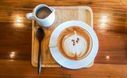 Caffè di Cappucino Fotografie Stock