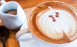 Caffè di Cappucino Fotografia Stock