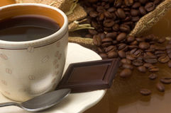 Caffè di colore Fotografie Stock