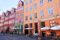 Caffè di Copenhaghen Fotografia Stock