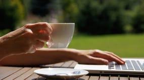 Caffè di domenica Fotografie Stock