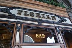 Caffè di Florian a Venezia Fotografie Stock