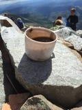 Caffè di Gaustadtoppen Rjukan Norvegia? Fotografia Stock