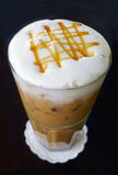 Caffè di ghiaccio Fotografie Stock Libere da Diritti