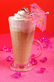 Caffè di ghiaccio Fotografia Stock