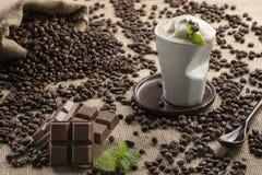 Caffè di ghiaccio Immagini Stock