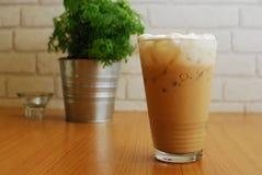 Caffè di ghiaccio del tè di ghiaccio Fotografia Stock Libera da Diritti