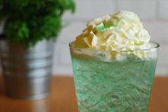 Caffè di ghiaccio del tè di ghiaccio Fotografie Stock