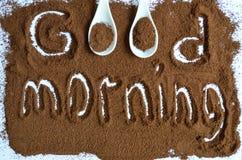 Caffè di Grinded Fotografie Stock
