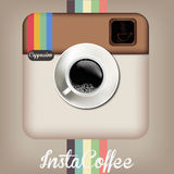 Caffè di Insta Immagine Stock