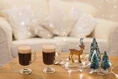 Caffè di inverno Fotografie Stock