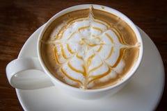 Caffè di Latte Fotografie Stock Libere da Diritti