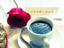 Caffè di mattina Fotografia Stock Libera da Diritti