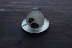 Caffè di mattina l'estremità Fotografia Stock Libera da Diritti