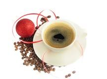 Caffè di natale Fotografia Stock