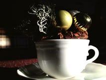 Caffè di Natale Immagini Stock