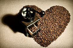 Caffè di natura morta Fotografie Stock