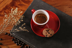 Caffè di refrigerazione di tempo Fotografia Stock Libera da Diritti