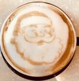 Caffè di Santa Claus Immagine Stock Libera da Diritti