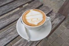 Caffè di Santa Claus Immagine Stock